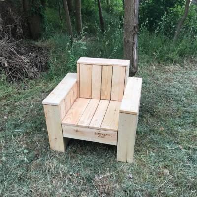 Sessel aus dem Sortiment der Palettenmöbel vom Palettenprofi in Buchholz